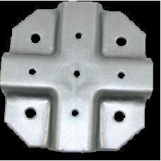 Краб-система Х-образная 20х20х1,2 мм ЦЕНА ЗА ОДНУ ЧАСТЬ