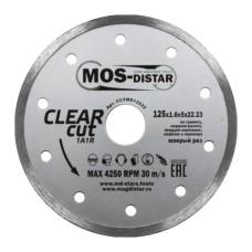 Круг алмазный сплошной MOS-DISTAR 125х1,6х5х22,23 Чистый рез