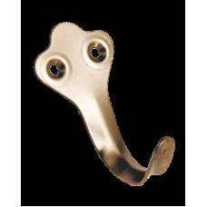 Крючок вешалка Металлист №2 цинк