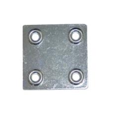 Пластина крепежная ПК 40х40х1,2 Металлист