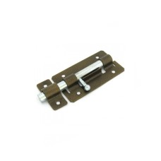Задвижка дверная Металлист ЗД-01 оцинкованная или полимер