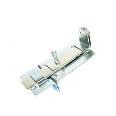 Задвижка дверная Металлист ЗД-04 оцинкованная