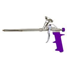 Пистолет для пены фиолетовая ручка