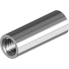 Цилиндр соединительный с внутренней резьбой  М6 х 18 мм внешний диаметр 8 мм