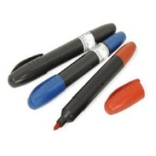 Маркер строительный черный,синий,красный цена 1 шт.