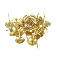 Гвоздь мебельный золото фасовка 20 грамм