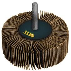 Диск лепестковый для дрели радиальный 80 х 40 х 6 мм, Р 60 FIT