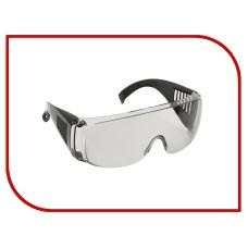 Очки защитные с дужками дымчатые