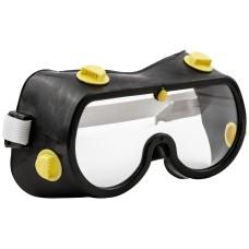 Очки защитные с непрямой вентиляцией, черный корпус