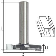 Фреза дисковая для кромок и пазов, DxHxL = 32х6х36 мм