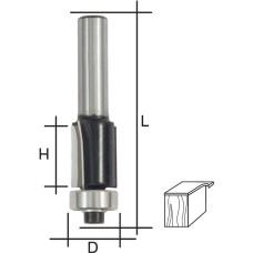 Фреза кромочная прямая, DxHxL = 13 х 25 х 66 мм