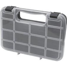 Ящик для крепежа органайзер прозрачный 10  24,5 х 18 х 4,5 см